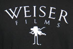 Weiser Films Fiddle T-Shirt, Black, photo